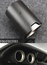 BMW M2 M3 M4 F80 F82 F83 F87 Style Matte Carbon Fiber Exhaust Muffler Pipe Tip