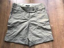 Next Ladies Green Shorts - Size 6