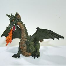 "Papo The Enchanted World Fantasy  ~  Green Dragon    4"" Toy Figure"