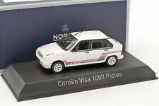 CITROEN VISA 1000 Pistes 1983 White - 1/43 - NOREV