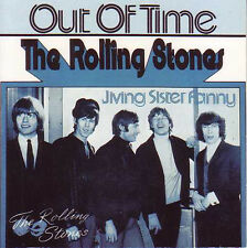 CD Single The ROLLING STONES Out of time 2-track CARD SLEEVE Jiving sister funny