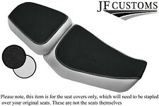 GRIP & WHITE CUSTOM FOR ROYAL ENFIELD HIMALAYAN 411 16-20 FRONT REAR SEAT COVERS