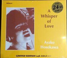 IMPEX / TBM GOLD CD IMP-8310: Ayako HOSOKAWA - A Whisper of Love - 2015 SEALED