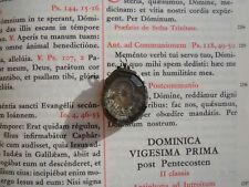 Christian reliquary 1500s 2nd class relic Veil blessed Virgin Mary COA