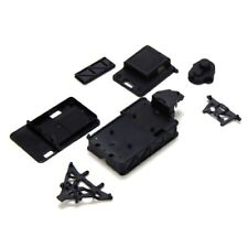 Losi LOSB1509 Chassis, Cover & Shock Tower Set: 1/36 Micro HIGH-roller