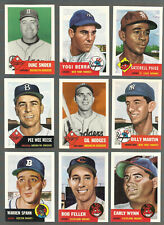 TOPPS ARCHIVES 1953 SERIES MLB BASEBALL LOT OF OVER 700 CARDS