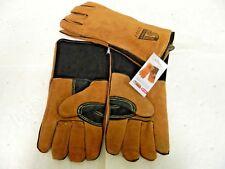 2 Pairs Steiner Welding Gloves Side Split Cowhide Brown Triple Layer Xl 02139 X