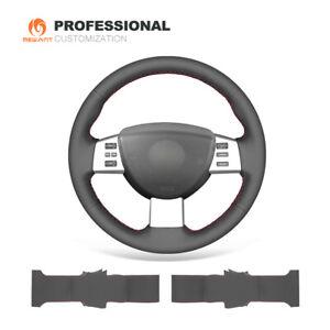 Genuine Leather Steering Wheel Cover Wrap for Nissan Altima Maxima Quest Murano