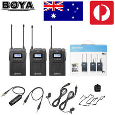BOYA BY-WM8 Wireless UHF PRO-K2 2 Channel Lavalier Microphone System For ENG EFP
