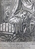 Rare Mort de Mirabeau 1791 Révolution Française Gravure Révolutions de Paris