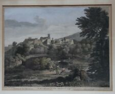 BRITISH ENGRAVINGS AFTER POUSSIN AND CLAUDE, 1743, 1744
