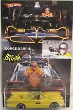Hot Wheels CUSTOM '66 TV SERIES BATMOBILE George Barris Tribute RR LTD #12/25!