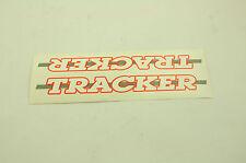 Old School HAWK TRACKER BMX Cadre Vélo Transfert/Autocollant véritable fait années 80 NOS