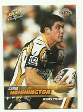 2008 NRL SELECT CHAMPIONS WESTS TIGERS CHRIS HEIGHINGTON #194 CARD FREE POST