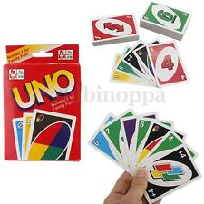 108 Standard Fun UNO Playing Cards Game For Family Friend Travel Instruction USA