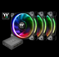 Thermaltake CL-F053-PL12SW-A Riing Plus 12 LED RGB Radiator Fan TT Premium