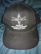 WCW Hat RARE World Championship Wrestling Monday Night Wars ball cap Nitro WWE