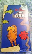 Dr. Seuss The Lorax VHS BRAND NEW