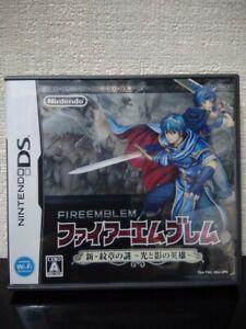 Fire Emblem Shin Monsho no Nazo Nintendo DS 12 Japanese Import Japan