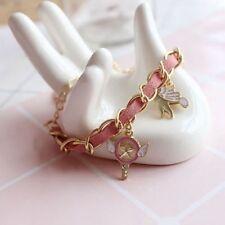 Card Captor Sakura Kero Star Wand Kinomoto Sakura Pink Bracelet Cosplay Gift