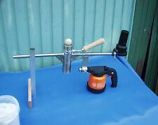 Oxalsäure -verdampfer Varroa Eleminator Edelstahl mit Gas Pizolöter u Lüfter