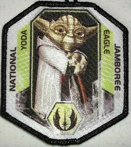 STAR WARS MARIN 2013 BSA Jamboree 533 YODA 2021 Eagle Scout Patch 1/ SCOUTMASTER