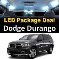 5x White LED Lights Interior Package Deal For 2011 2012 2013 Dodge Durango