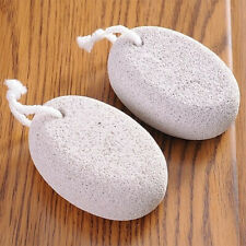 2x New Pumice Stone Foot Care Scrub Dead Hard Skin Callus Remover Pedicure Tool