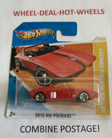 HOT WHEELS 2010 HW PREMIERE '62 FORD MUSTANG CONCEPT RARE SHORT CARD MOC!