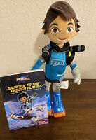 "Disney Store Junior MILES TOMORROWLAND Plush Doll Toy Boy Astronaut 13"" W/Book"