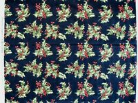 Moda Christmas Presence by April Cornell 1 yd quilt fabric Holly floral cotton