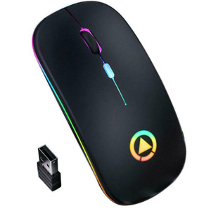 Wireless Optical Mouse 2.4 GHz For Windows HP PC Laptop Notebook Lenovo Dell