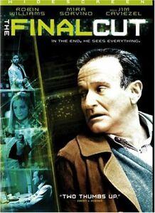 Like New WS DVD The Final Cut Robin Williams Jim Caviezel Mira Sorvino Mimi