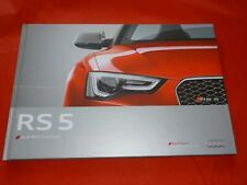 AUDI RS 5 8F Cabriolet Hardcover Prospekt Brochure von 2012