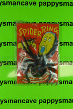 VINTAGE~ MONSTER SPIDER RING TOY~MINT IN PACKAGE~HONG KONG