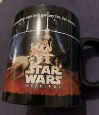 Walt Disney Star Wars Weekends 2004 Mug. Mickey And Minnie Mouse
