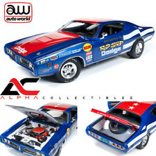 AUTOWORLD AW224 1:18 1971 ROD SHOP DODGE CHARGER SUPER BEE DAVE BOERTMAN
