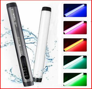 SOONWELL LED RGB Light Tube Portable Photography Light IP68 Waterproof Magnetic