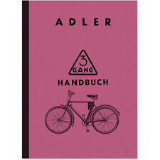 Adler Fahrrad 3-Gang 1935 Handbuch Reparaturanleitung Bedienungsanleitung Manual