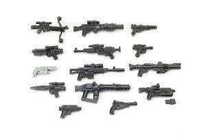 BrickArms Star Wars™ Blaster Revolution Waffen Set, Custom für LEGO® Figuren