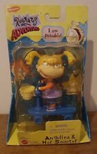NEW Vintage Rugrats Posable Figure Angelica And Her Scooter Boxed 1998