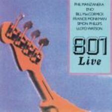 801 live 0604388457724 By Phil Manzanera CD