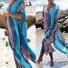 Women's Summer Boho Long Kaftan Maxi Dress Evening Cocktail Party Beach Dress KP