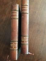 La révolution Française, Pierre Gaxotte, en deux tomes édition complète. 1928.