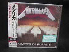 METALLICA Master Of Puppets JAPAN SHM CD Exodus Trauma EZ-Street Spastik Childre