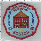 Boston Fire Department (Massachusetts) Engine 33 - Ladder 15 Shoulder Patch