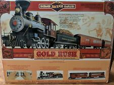"Bachmann Big Haulers ""Gold Rush"" - G Scale Model Train Set - Tested and Working"