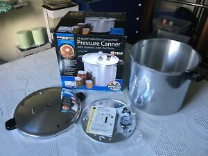 Presto 23 Quart Pressure Canner / Cooker 01784 Induction Stainless Brand New !