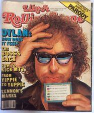"BOB DYLAN Rolling Stone Parody Magazine ""LIKE A ROLLING STONE"" 1985"