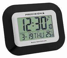 Precision PREC0097 Radio Controlled LCD Wall Mountable and Desk Clock